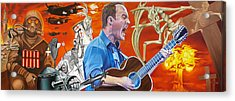 Dave Matthews The Last Stop Acrylic Print by Joshua Morton