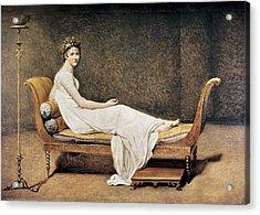 David, Jacques-louis 1748-1825. Madame Acrylic Print by Everett