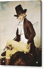 David, Jacques-louis 1748-1825. Pierre Acrylic Print by Everett