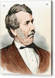 David Livingstone (1813-1873 Acrylic Print by Prisma Archivo