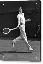 Davis Cup Play Acrylic Print by Underwood Archives