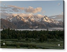 Dawn At Grand Teton National Park Acrylic Print by Brian Harig