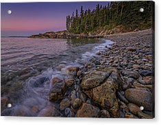 Little Hunter's Beach, Acadia National Park Acrylic Print by Rick Berk
