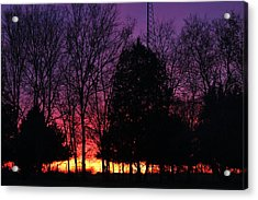 Day Is Done Acrylic Print by Lorri Crossno