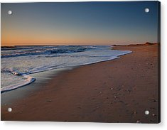 Daybreak On Hatteras Acrylic Print by Steven Ainsworth