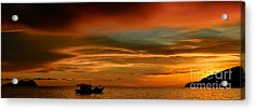 Day's End Acrylic Print by Julian Cook
