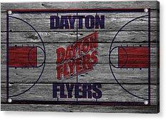 Dayton Flyers Acrylic Print by Joe Hamilton