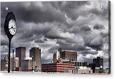 Dayton Ohio Acrylic Print by Dan Sproul