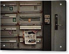 Dead Letters Acrylic Print by Odd Jeppesen
