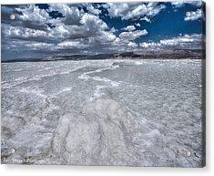 Dead Sea Acrylic Print by Isaac Silman