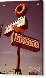 Deangelis Donuts Acrylic Print by Jim Zahniser