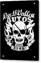 Death Valley Autos Acrylic Print by Phil 'motography' Clark