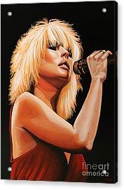 Deborah Harry Or Blondie 2 Acrylic Print by Paul Meijering