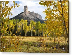 Deb's Meadow Acrylic Print by Eric Glaser