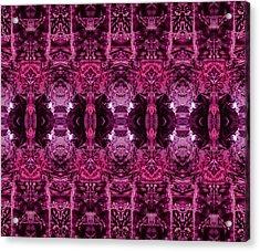 Decalcomaniac Wallpaper Acrylic Print by Otto Rapp