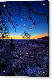 December Blues Acrylic Print by Phil Koch