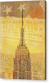Liberation Nation Acrylic Print by Az Jackson