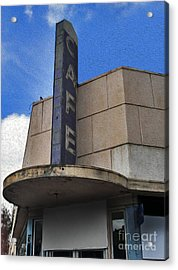 Deco Cafe - 03 Acrylic Print by Gregory Dyer
