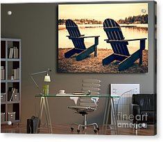 Decorating With Fine Art Photography Acrylic Print by Edward Fielding