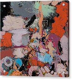 Deep Impulses Acrylic Print by Allan P Friedlander