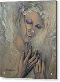 Deep Inside Acrylic Print by Dorina  Costras