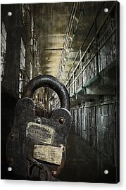 Deep Lockdown Alcatraz Acrylic Print by Daniel Hagerman