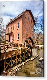 Deep River Grist Mill In Northwest Indiana Acrylic Print by Paul Velgos