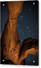 Deep Space Spectacle From Double Arch Acrylic Print by Mike Berenson