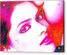 Deepika Padukone Acrylic Print by Ricky Nathaniel