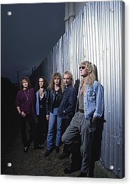 Def Leppard - Adrenalize Me 1992 Acrylic Print by Epic Rights