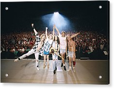 Def Leppard - Adrenalize Tour 1992 - On Stage Acrylic Print by Epic Rights
