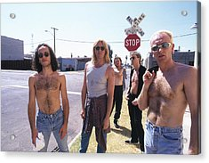 Def Leppard - Slang Tour 1996 - Jackson Street Acrylic Print by Epic Rights