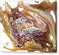Defiance Acrylic Print by Karina Llergo