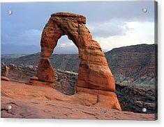 Delicate Arch - Arches National Park - Utah Acrylic Print by Aidan Moran