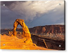 Delicate Arch Acrylic Print by Jim Baker