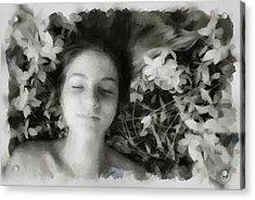 Delight Acrylic Print by Gun Legler