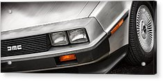Delorean Dmc-12 Acrylic Print by Gordon Dean II