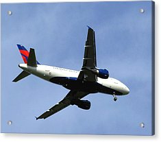 Delta Flight 2 Acrylic Print by Will Borden