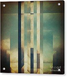 Demagogic Sky Acrylic Print by Lonnie Christopher