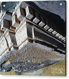 Dent Espace La Verite Trebuche Sur La Place Publique Acrylic Print by Contemporary Luxury Fine Art