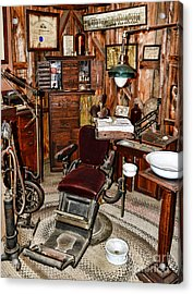 Dentist - The Dentist Chair Acrylic Print by Paul Ward