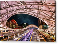 Denver Air Traveler Acrylic Print by Darren  White