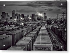 Denver's Underbelly Acrylic Print by Kristal Kraft