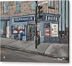 Depanneur Safa Wellington Street  Acrylic Print by Reb Frost