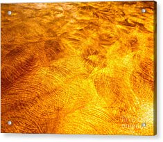 Depiction Of Ions In Outer Space Acrylic Print by Chuck Taylor