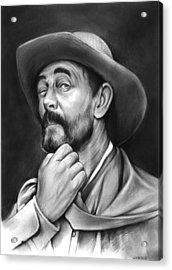 Deputy Festus Haggen Acrylic Print by Greg Joens
