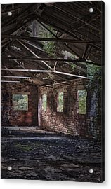 Derelict Building Acrylic Print by Amanda And Christopher Elwell