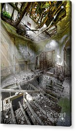 Derelict Room Acrylic Print by Svetlana Sewell