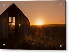 Derelict Shed Acrylic Print by Svetlana Sewell