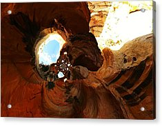 Desert Abstract Acrylic Print by Jeff Swan